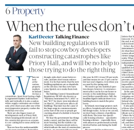 SBPost on building regs
